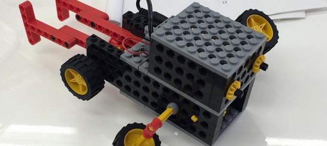 ロボット作成体験と私のお遊び