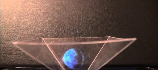 タブレット用3Dホログラム装置の作り方